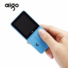 "Aigo MP3-207 Fashion Multifunctional Portable Music Player 1.8"" TFT Screen Display Rechargeable MP3 Player Support Audio Video(China)"