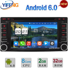 2GB RAM Android 6.0 WiFi Octa Core 4G 32GB ROM Car DVD Radio Player For Subaru XV Forester Impreza 2008 2009 2010 2011 2012 2013