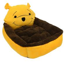 Pet Small Cartoon Cat Nest Dogs Home Sleeping Bag Pet Litter Pet Supplies Warm Cushion Basket for Puppy Home(China)
