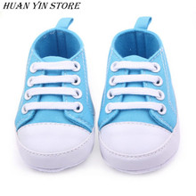 New Soft Infant Newborn Baby Boy Girl Kid Soft Sole Shoes Sneaker Newborn 0-12Months(China)