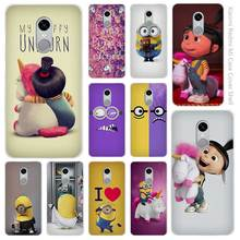 Minion My Unicorn Agnes fashion Clear Cover Case Coque for Xiaomi Redmi Mi Note 3 3s 4 4A 4X 5 5S 5C 6 Pro