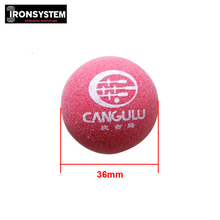Professional Match Ball 1pc 36mm Red matte Soccer Table Football Foosball Balls Table Game Accessories
