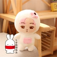 2017 KPOP EXO Kim Jong In KAI 22cm/8inch Plush Baby Toy Stuffed Doll Handmade Fans Goods Gift Collection 16110823