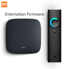 Multilanguage Xiaomi MI TV BOX 3S Smart 4K Ultra HD 2G/8G Android 6.0 WIFI Google Cast  Red Bull Media Player Set Top Box