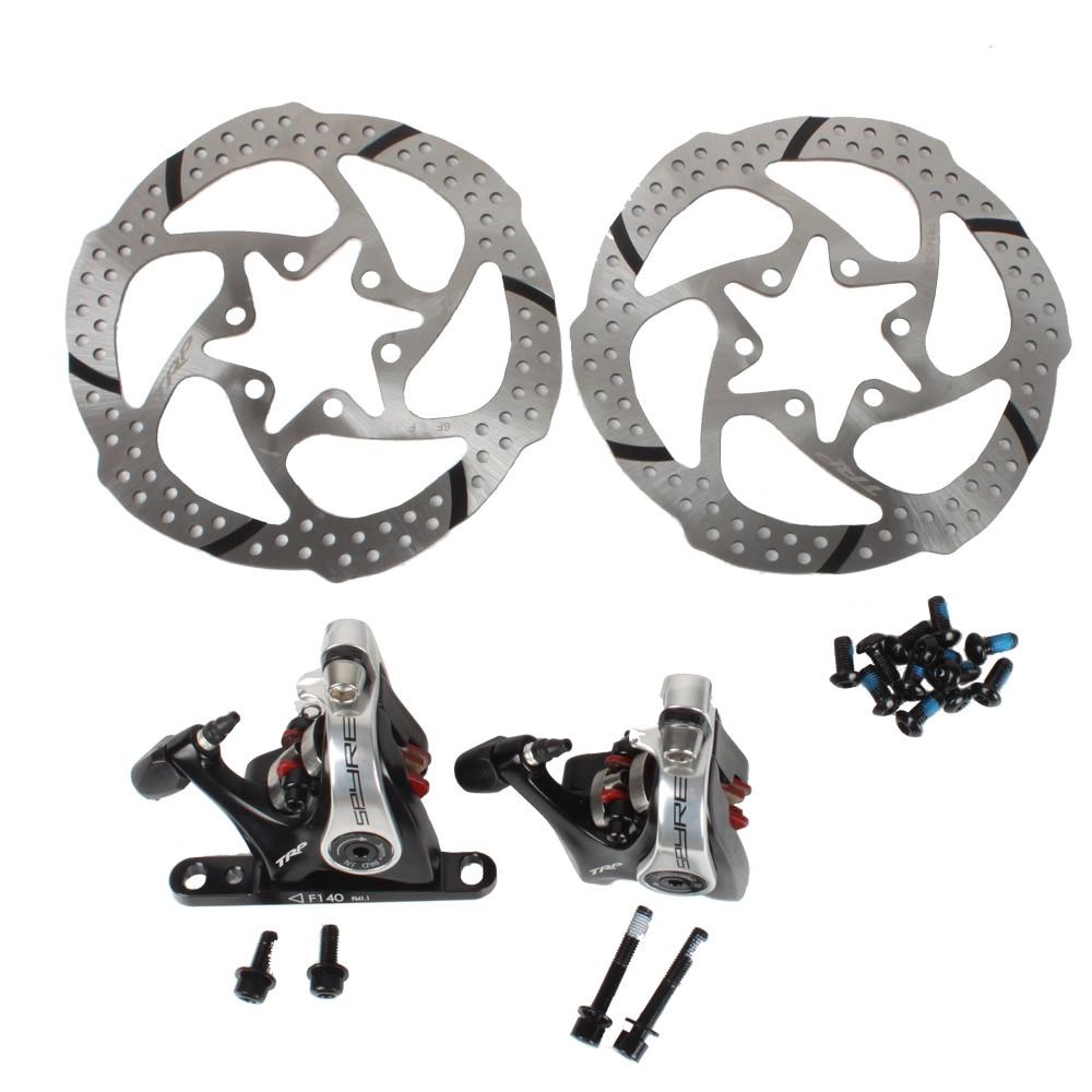 Bike Brake Dual Sided Actuation Easy Adjustment And Set Up Flat Mount Disc Brake 6 Slots Flat Mount disc brake Caliper 1 set <br><br>Aliexpress