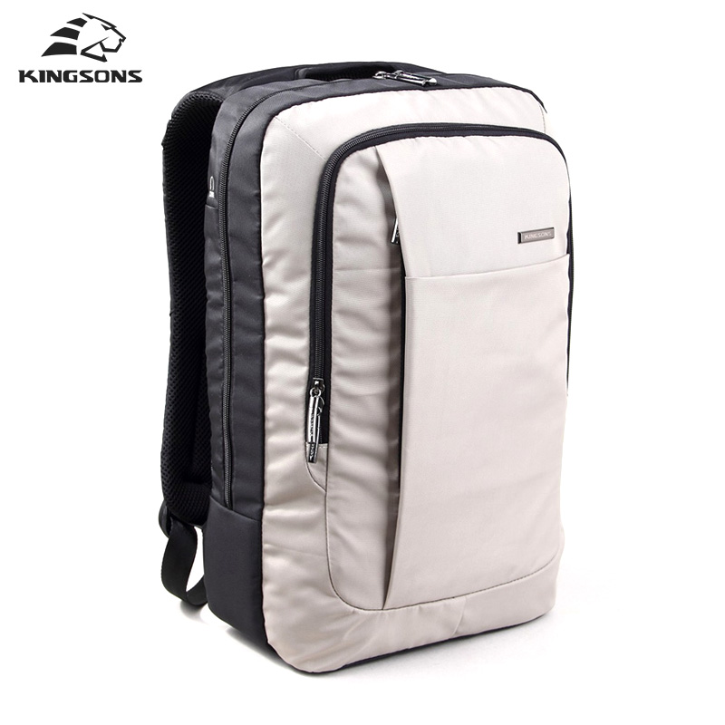 Kingsons Bag Laptop Backpack 15.6 inch Nylon Waterproof Shockproof Packsack Men Women Escolar Mochila for Teenagers Boys Girls <br>
