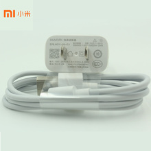 Original XIAOMI USB Charger 5V 2A White Power Adapter + Micro USB Data Cable for Mi 4 4s Redmi 3 3s 4 4A 4X Note 3 4 4X(China)