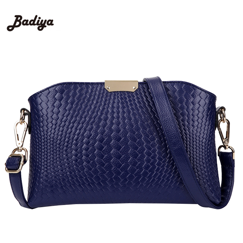 2016 Women Leather Crocodile Bags Ultra-thin Handbag Messenger Bags For Ladies Zipper Shoulder Bag<br><br>Aliexpress