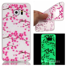 Hot! Fashion Fluorescence TPU Slim Phone Cases For Samsung Galaxy Note 5 N9200 Luminous Soft Silicon Phone Cover Case