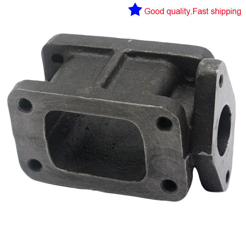 T3 to T4 Turbo Manifold Flange Adapter Conversion Cast New