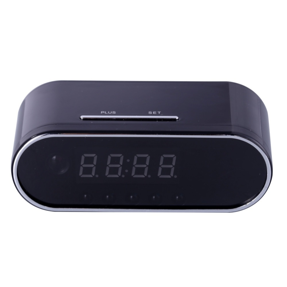 EDAL 1080P H.264 Table Clock Camera Alarm Setting Mini Camera IR Night Vision Wifi Cam IP Clock Camera Mini DV DVR Camcorder<br>