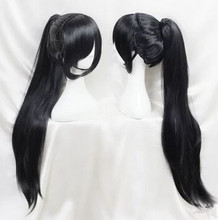 long ancient dynasty wig chinese ancient warrior cosplay wig swordsman cosplay black vintage hair ancient chinese cosplay