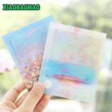 Pretty Van Gogh Painting Self-Adhesive Memo Pad Sticky Notes Post It Bookmark School Office Supply(China)
