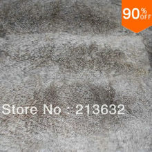 Style 2 Luxury material stuff leather rabbit real fur cheap and good quality Garment Textile accessories free ship