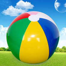 Summer 40cm Funny Balls Balloon for Beach Sand Water Glossy Vinyl Giant Pool Toys Kids Outdoor Game Gifts Toys for Children