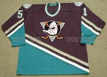 51 Ryan Getzlaf Mighty Ducks Jersey Stitched Men Throwback Ice Hockey Jersey Green Black White Green S-3XL(China)