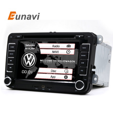 "Eunavi 7"" 2din Car DVD for VW POLO GOLF 5 6 POLO PASSAT B6 CC JETTA TIGUAN TOURAN EOS SHARAN SCIROCCO CADDY with GPS Navi"