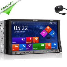 SD Radio USB Receiver FM MP3 Music Car DVD Player Audio 8GB GPS Map Stereo iPod EQ System AMP 2 Din RDS Logo win8