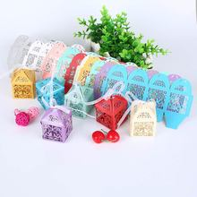 Buy 10 Pcs/Lot Fashion Love Birds Paper-cut Sugar Candy Boxes Party Wedding Gift Boxes Favors Supplies TB Sale for $1.37 in AliExpress store