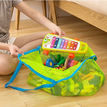 Portable Kids Baby Mesh Beach Storage Bags Sand Away Carry Balls Clothes Towel Bag Toy Collection Nappy Bag Organizadores 64374
