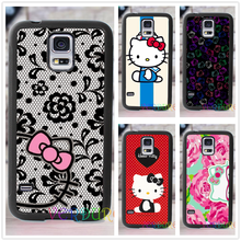 Hello Kitty  fashion cover case for samsung galaxy s3 s4 s5 s6 s7 s6 edge s7 edge note 3 note 4 note 5 #TG116