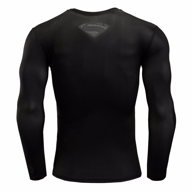 Marvel Gyms Clothing Fitness Compression Shirt Men Batman t-shirt men Long Sleeve 3D t shirt men Crossfit Tops tee shirt homme 33
