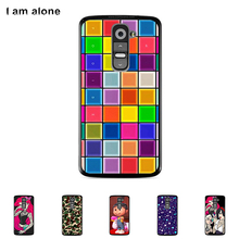 For LG G2 D801 D802 5.2	inch Cellphone Case Hard Plastic Mobile Phone Cover Mask Color Paint Protective Bag Free Shipping