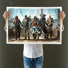 NEWEST Assassins Creed Canvas Poster Huge Print Paintings Game Pictures For Living Room Modern Wall Art Home Decoration