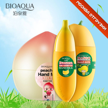 Bioaqua Hand Cream Ageless Nourishing Peach Banana Mango Korean Hand Cream(China)