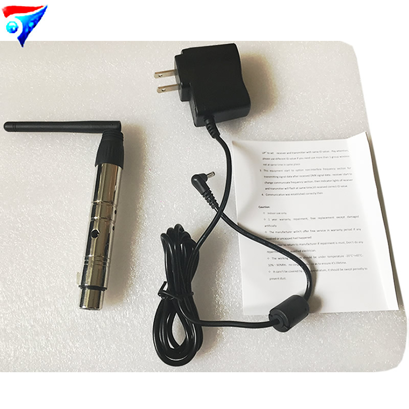 Free Shipping DMX512 DMX DJ Wireless system Receiver or Transmitter 2.4G for LED stage light LED light 400m controller<br>