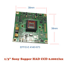 Inventory Clean - up Economy Lower Illumination Surveillance System Sony CCD 800TVL Board for CCTV Camera