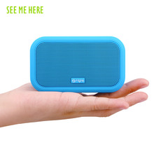 Bass Mini Portable speaker subwoofer support FM Radio/MP3/SD card/USB color outdoor amplifier wireless bluetooth Speaker