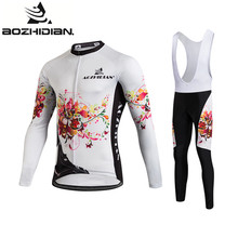 Buy 2017 AZD110 Women Cycling Jersey Long Sleeve Maillot Ropa Ciclismo Summer Specialized Custom Cycling Jersey Set Funny Pro Team for $25.45 in AliExpress store