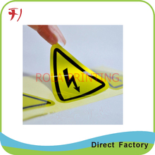 air fresh Label PVC PET sticker custom logo printing labels accept trust assurance