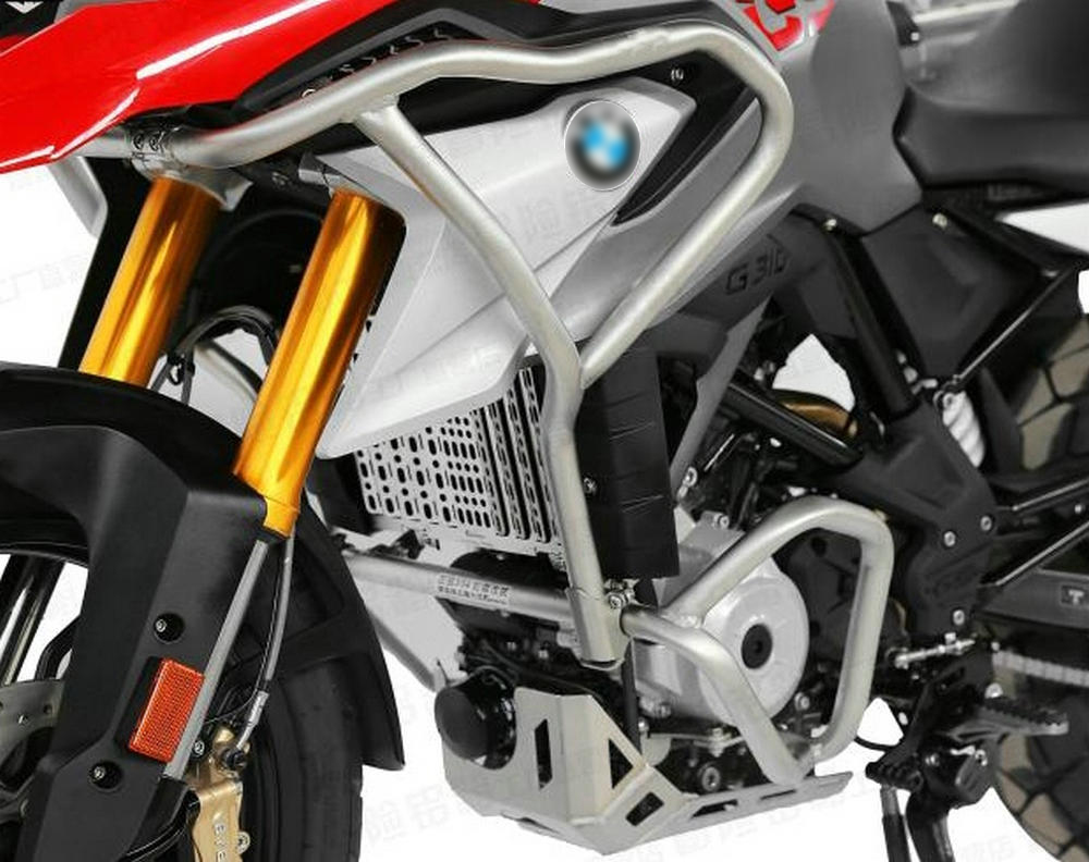 For BMW 2017 2018 G310GS Motorcycle Upper and Lower Engine Bumper Guard Crash Bars ExtensionsFrame Oil Tank Protector (3)