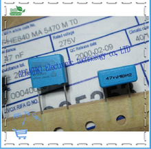 Indonesia PHE840 X2 safety film capacitor 0.047 uf and nf / 275 vac P = 10 mm(China)