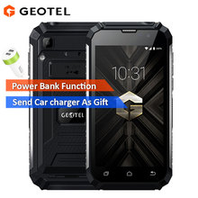 Original Geotel G1 Power Bank Smartphone 5.0 Andriod 7.0 MTK6580A Quad core 2GB RAM 16GB ROM 8MP Camera 7500Mah 3G mobile phone