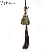 Retro Chinese Dragon Wind Chime Bell Blessing for Feng Shui Good Luck Fortune Ornament Home Car Hanging Decoration Art Gift