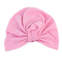 Bohemian Style Baby Hat for Girls Boys Cotton Elastic Winter Children Indian Style Hat(China)