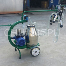 Portable Goat Suction Trolley Milking Machine(China)