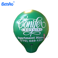 AO316 2.5m High Egg Helium Balloon Ellipse Shape Inflatable Advertising,Hot Selling advertising PVC inflatable sky balloon