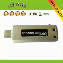 Digital USB 2.0 Dongle Stick DVB-T HDTV TV Tuner Recorder Receiver with Remote Control IR Antenna(China)