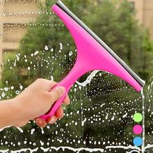 1pc Durable Window Mirror Car Windshield Squeegee Glass Wiper Silicone Blade Cleaning Shower Screen #25