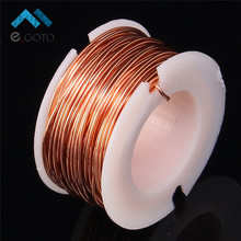 10m Magnet Wire 0.5mm Enameled Copper Wire Magnetic Coil Winding For Making Electromagnet Motor Model(China)