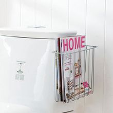 Storage rack finishing frame toilet rack wall magazine rack magazine shelf