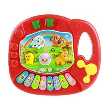 2017 Baby Kids Multifunctional Educational Musical Educational Animal Farm Piano Developmental Music Toy