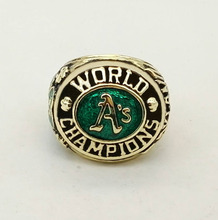 Factory direct sale 1974 Oakland Athletics A's Major League Baseball Zinc Alloy  Championship Rings Replica Jewelry