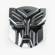 Car Styling Stereoscopic Aluminum 3D Car Stickers Car Styling Logo Autobot cool Emblem Badge Graphics Decal