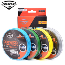 137M&150Yds 8 Stands Fishing Line Proberos Brand Green/Grey/Yellow/Blue braided line available15LB-150LB 8-Weaves PE Line