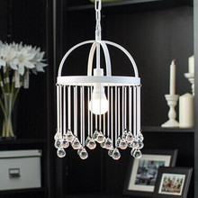 Glass And Metal Modern Lamp LED Pendent Light For Dinning Living Room Corridor Light Bulb Included,Teardrop shaped glass beads